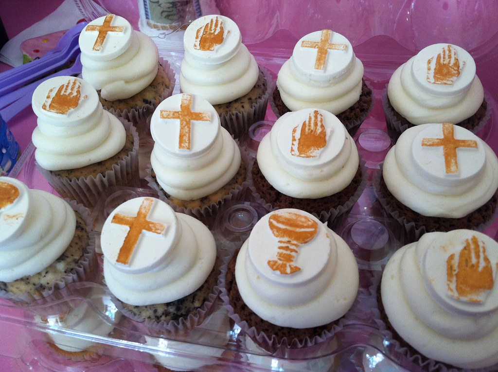 First Communion Cupcake Ms Goody Cupcake 1838 East