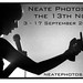 Neate photos exhibition promotion in Glasgow