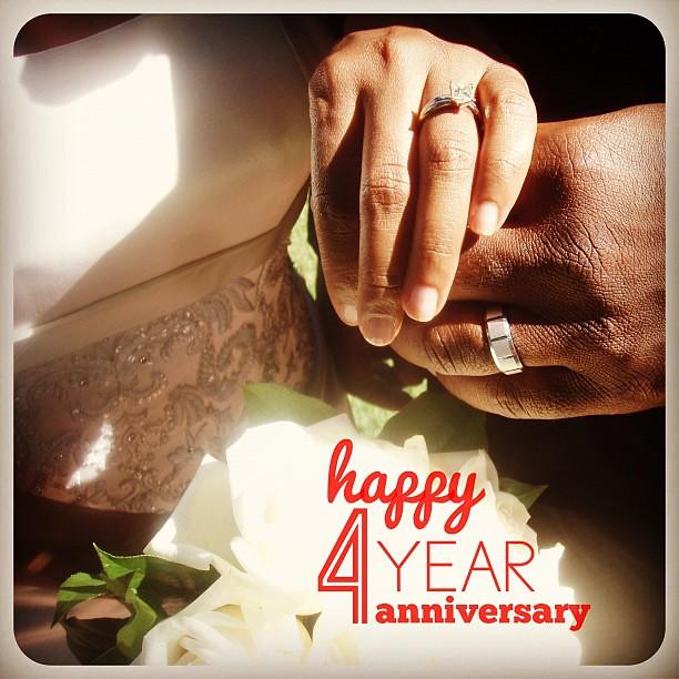 Happy 4 Year Wedding Anniversary To My Best Friend Flickr