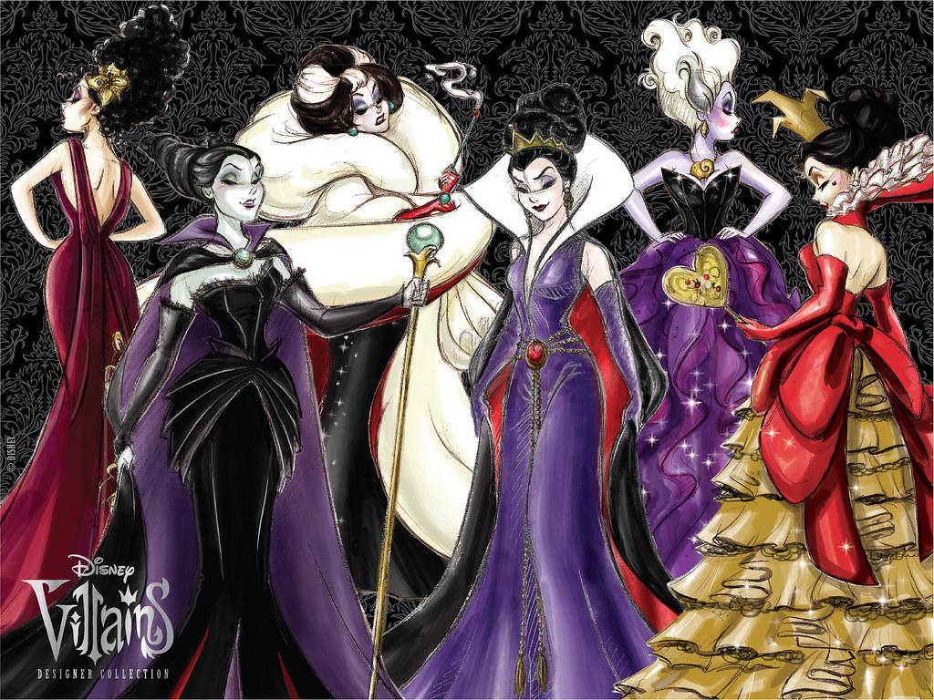 disney villains designer collection facebook promo all