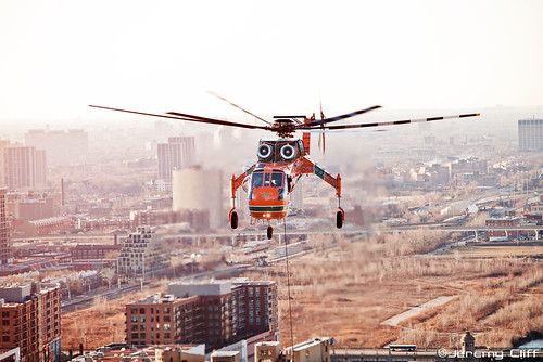 Erickson Air-Crane Downtown Chicago | by jeremycliff