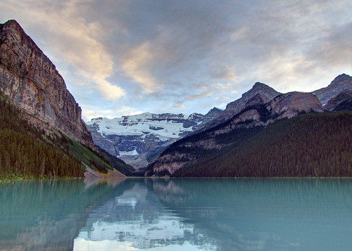 Beautiful Evening at Lake Louise | by njchow82