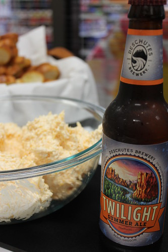 Twilight cheese dip and some Twilight Ale | by DeschutesBrewery