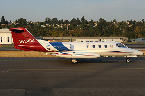 Learjet 25 N524DW | by royalscottking