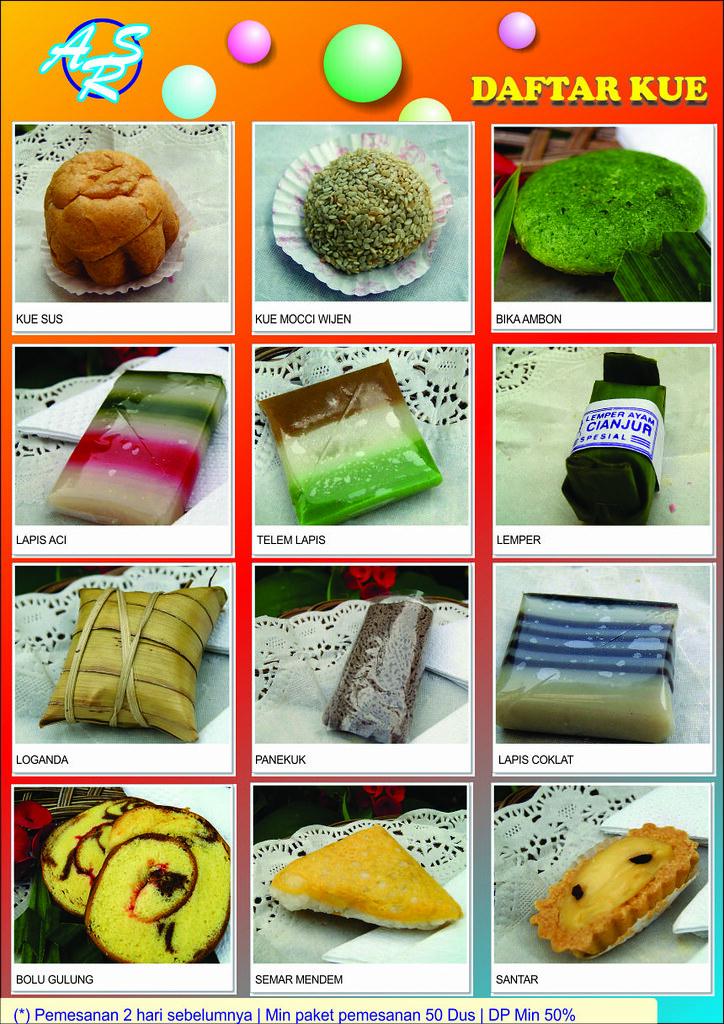 Brosur Ars 2 Daftar Menu Kue Basah 1 Fahmi Rahman Flickr