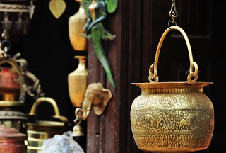 Copper household utensils 黃銅器皿 | by MelindaChan ^..^