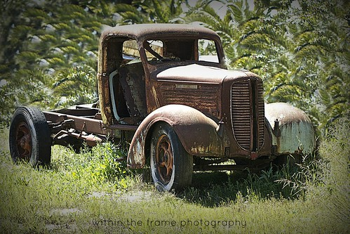 truck shell in plantation | by WITHIN the FRAME Photography(5 Million views tha