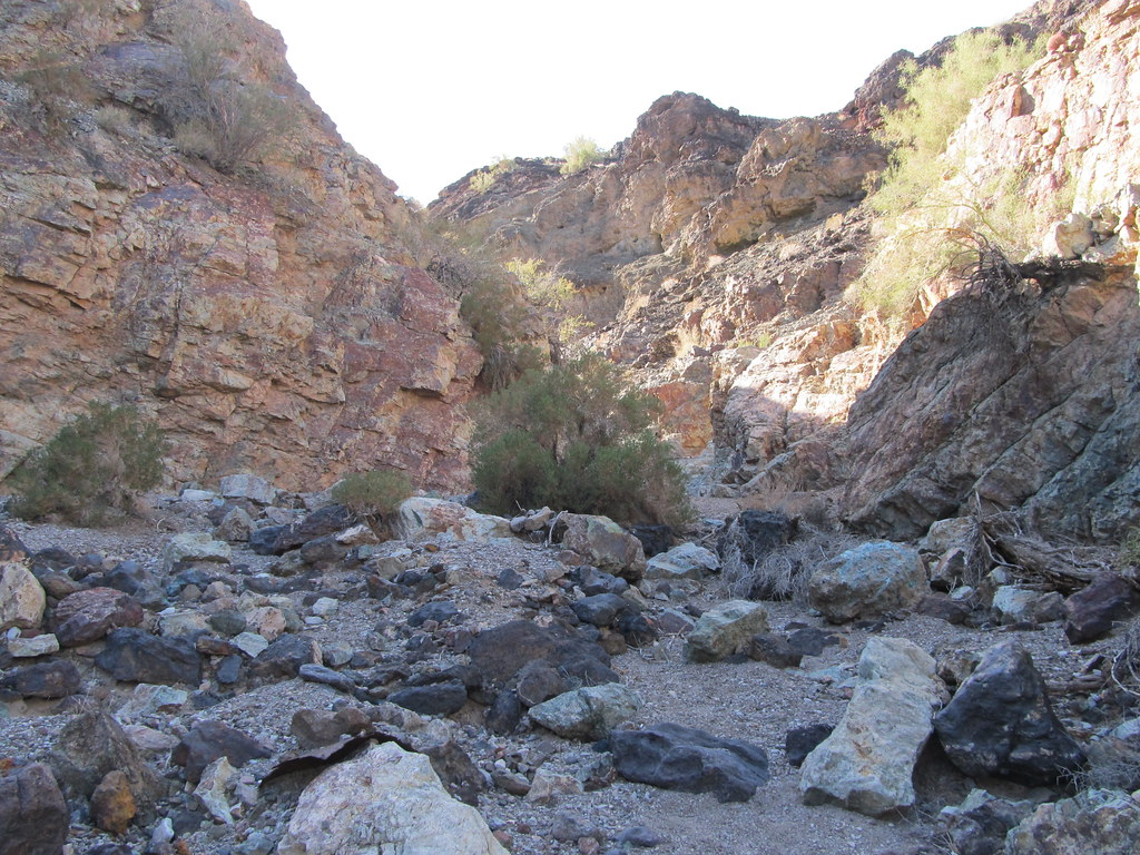 beautiful canyon at planet ranch  planet mine  az