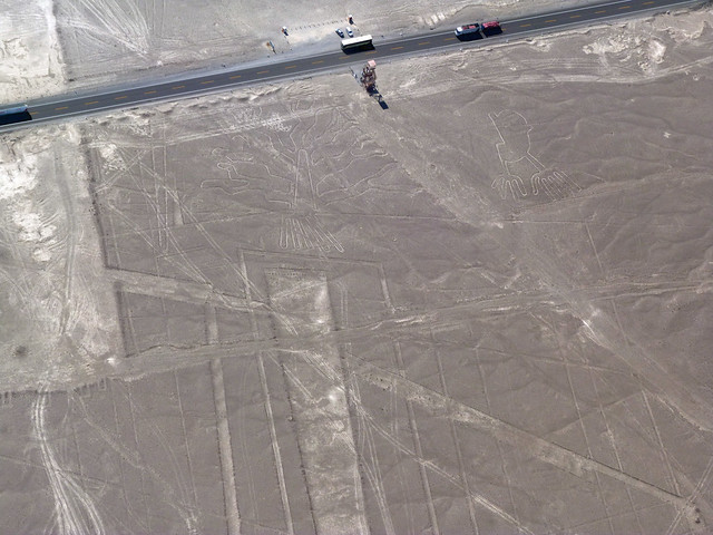 Las líneas de Nazca desde el aire (Vuelo en avioneta)