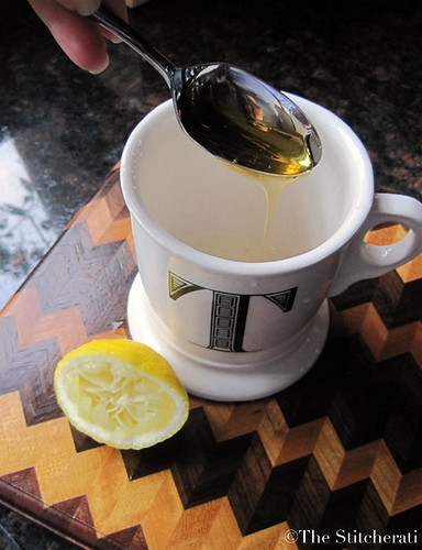 apple cinnamon hot toddy - pour honey | by thestitcherati