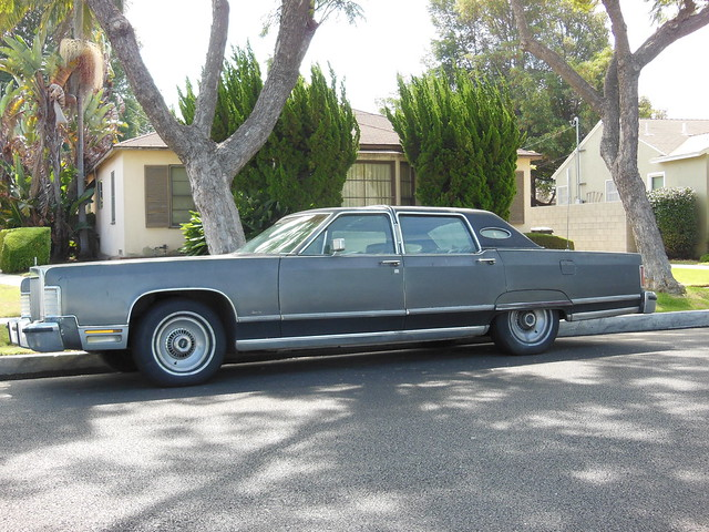 1975 79 lincoln continental town car flickr photo sharing. Black Bedroom Furniture Sets. Home Design Ideas