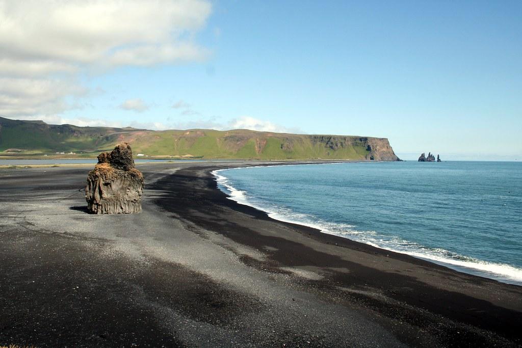Islanda Dal Promontorio Di Dyrh 243 Laey Verso I Faraglioni Flickr
