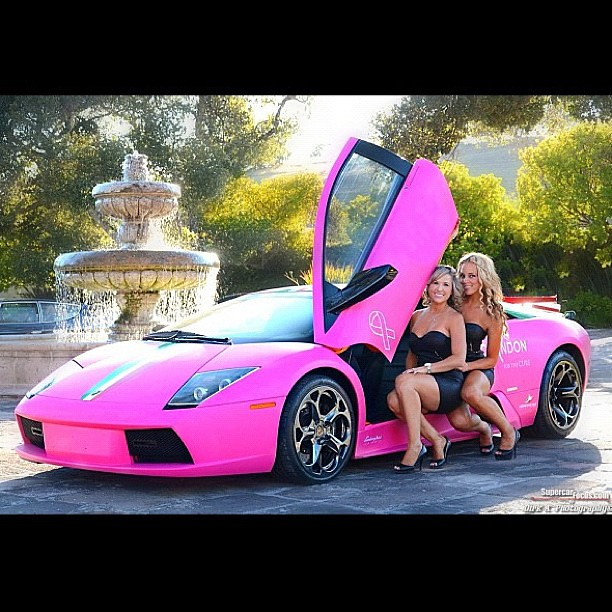 Did You Know That This World Famous Matte Pink Lamborghini Flickr
