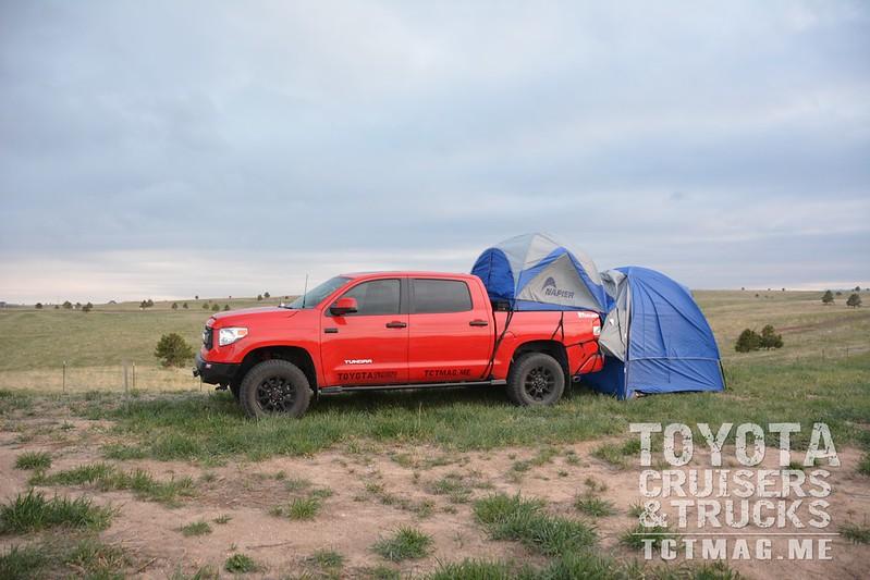Napier Sportz Truck Tent + Link System