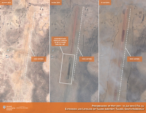 Extension and Leveling of Talodi Airstrip | by ENOUGH Project