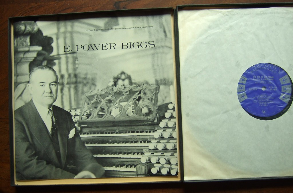 E Power Biggs Bach Organ Favorites Volume 2