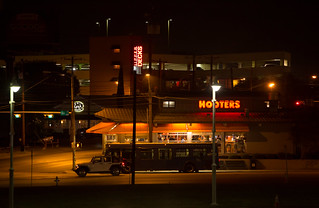 Hooters doing brisk trade on a quiet Thursday night | by Lars Plougmann