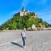 Hazel at Mont St Michel