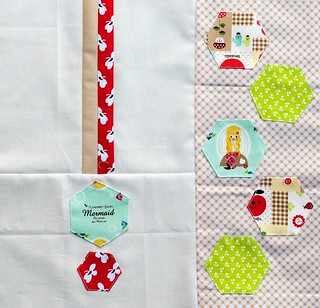 Improv Hexi Block for AnneMarie | by Pitter Putter Stitch