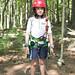 Nathan, ready to climb