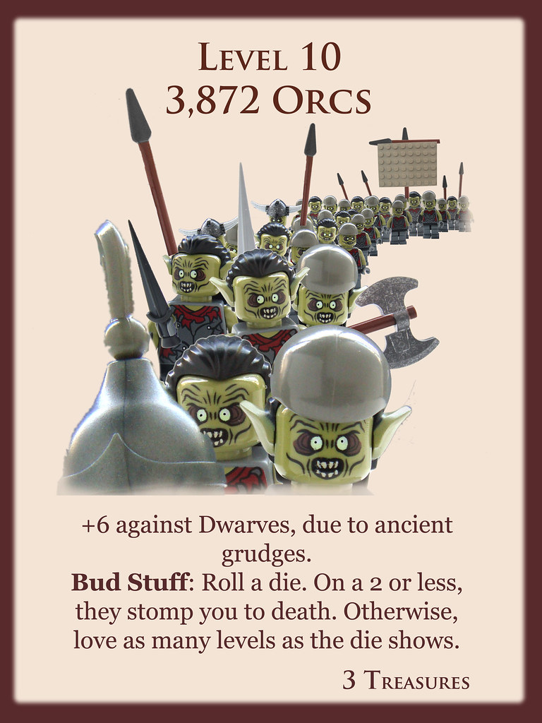 Level 10 3 872 Orcs Another In My Series Of Brick A
