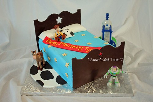 Tyson's first birthday cake | by Diane Burke - moving to ipernity