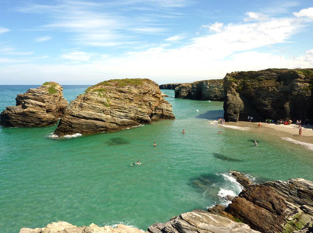 Playa de Las Catedrales, Praia de Augas Santas - Most beautiful beached is Europe