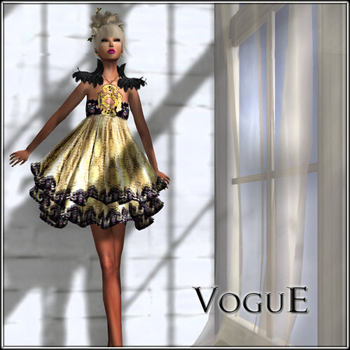"VoguE ""Shelby"" Dress Exclusive for BOSL Fashion Week 