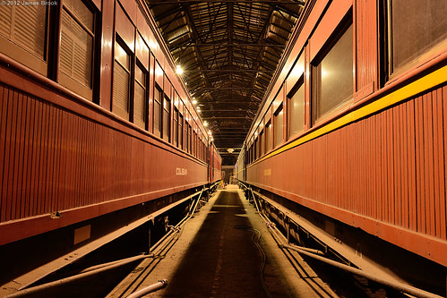 Sleeping cars at Newport Workshops west block | by VRfan