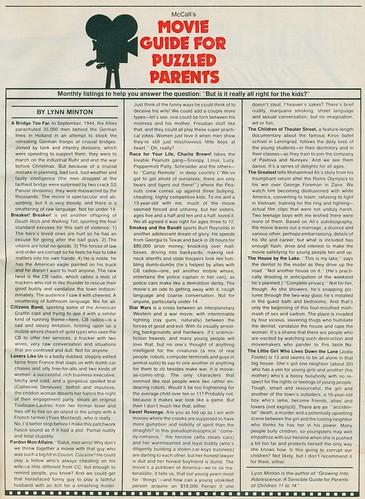 Parents magazine movie reviews