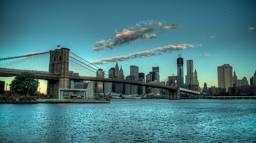 The Brooklyn Bridge In The Early NYC Morning | by Ramon B. Nuez Jr.