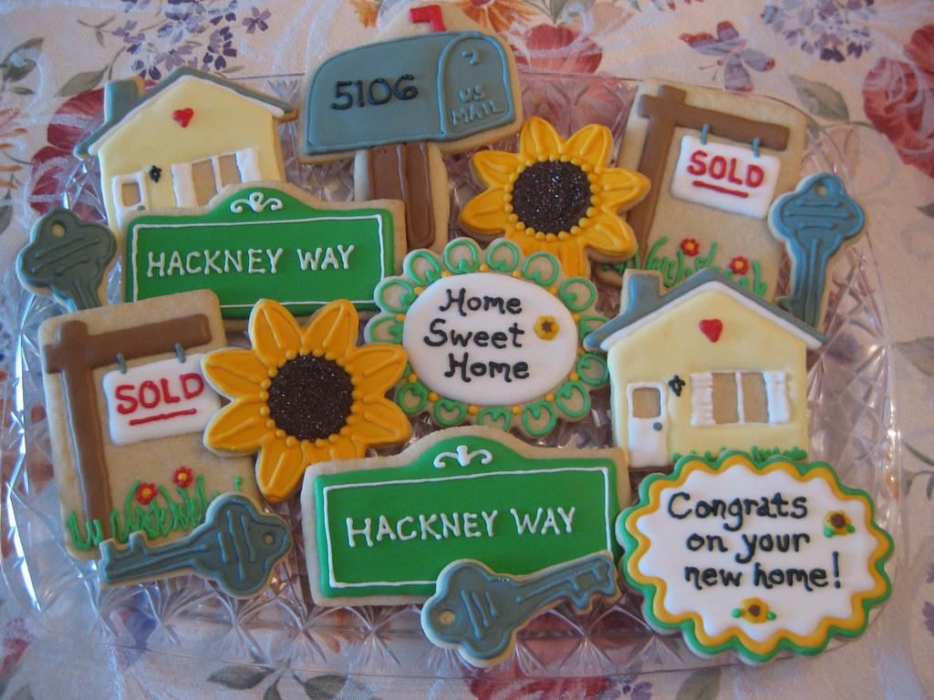 Housewarming cookies | Housewarming cookies A nod to