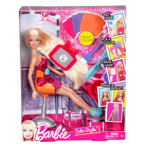 Barbie Color Stylin Doll 2013