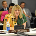 "Nobel Peace Laureate Jody Williams speaks at the high-level event ""Preventing Sexual Violence and Gender-based Crimes in Conflict and Securing Justice for Survivors"""
