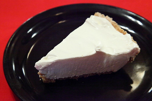 Lemonade pie, Margie's Red Rose Diner, West 144th Street, Manhattan | by Eating In Translation