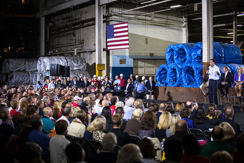 Romney in Cleveland OH-1 | by Brett Marty