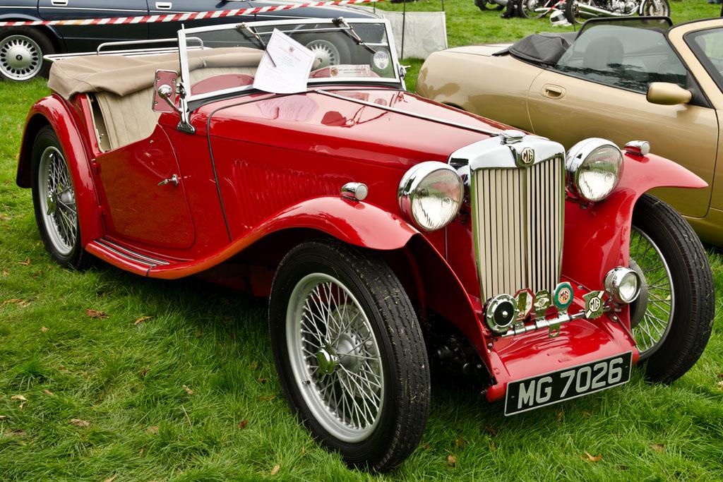 Classic Car Show Knebworth