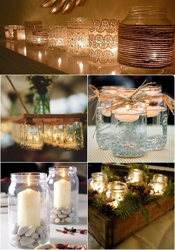 Botes de cristal para decorar vert shila in flickr - Reciclar botes de cristal decoracion ...