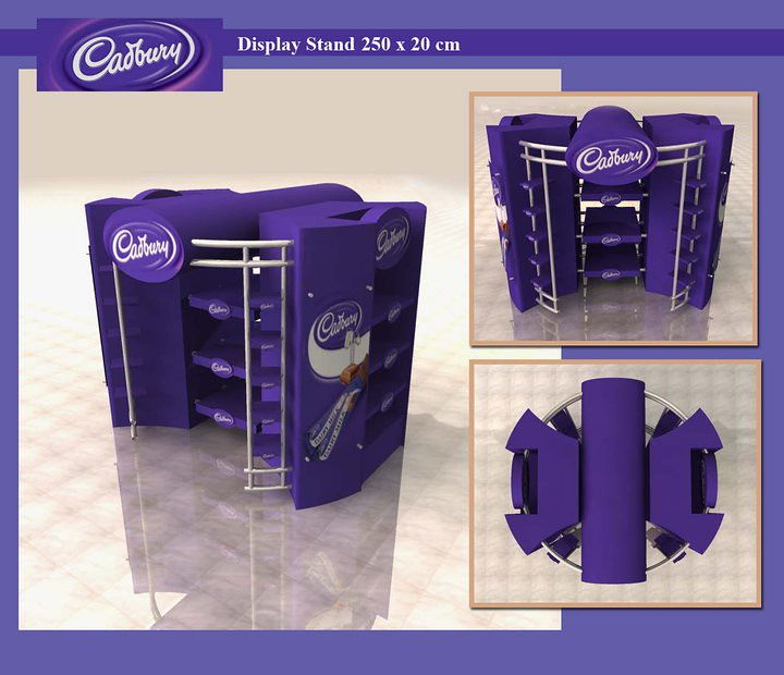 Exhibition Stand Terms And Conditions : Cadbury chocolate display stand imad ismail flickr