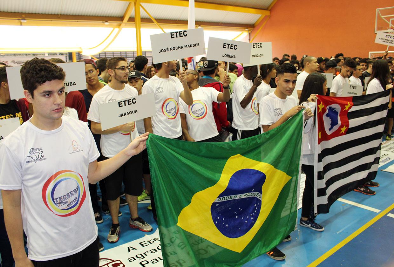 Começa o 3º Torneio Educacional, Esportivo, Cultural e Solidário na Etec de Esportes