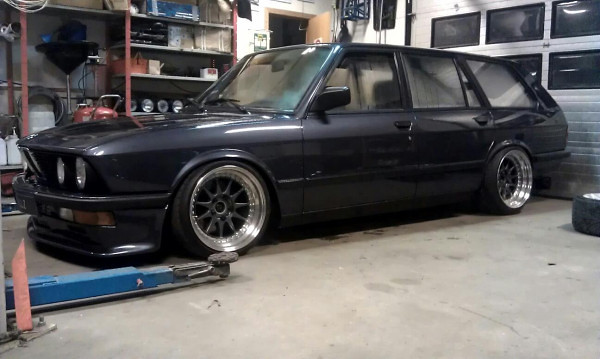Bmw Wagon E28 Touring Via Stance Works Fixedgear Flickr