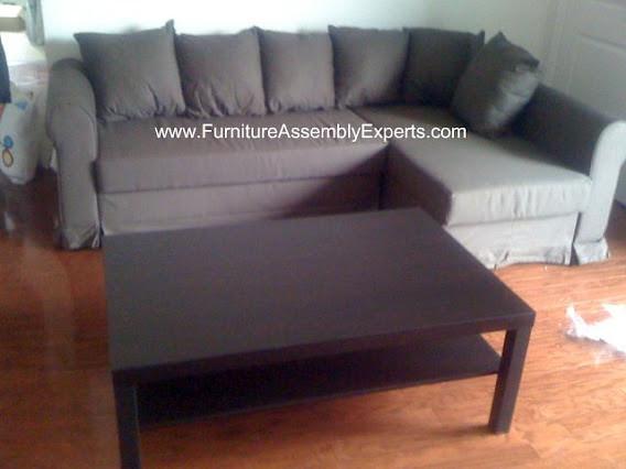 Ikea moheda sofa bed assembly service in arlington va flickr for Ikea arlington va