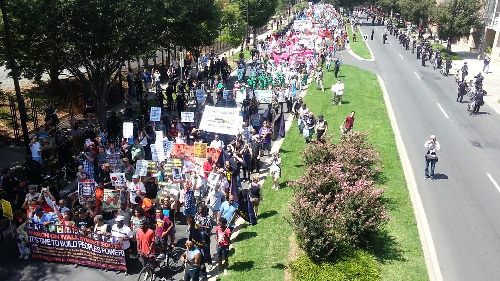 DNC march September 2
