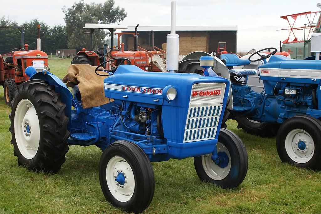 1969 ford 2000 tractor the south canterbury steam. Black Bedroom Furniture Sets. Home Design Ideas