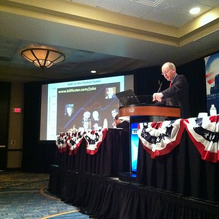 Congressional candidate Bill Foster gives power point presentation to IL Dems #DNC | by chicagopublicmedia