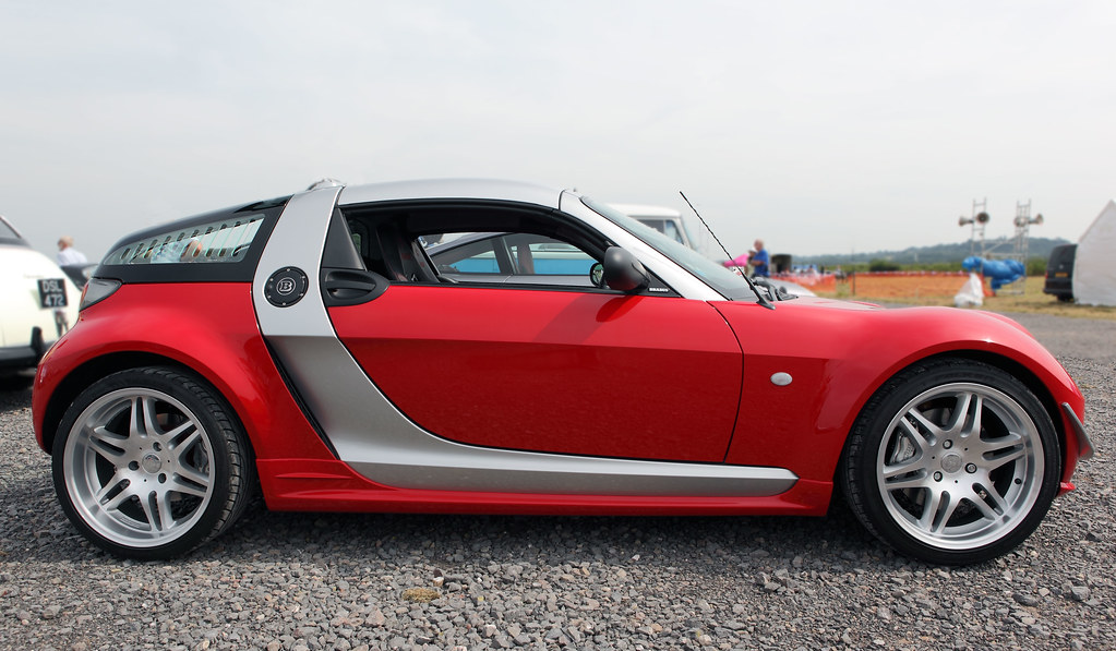 smart brabus roadster coupe profile view c2004 3 cylinde flickr. Black Bedroom Furniture Sets. Home Design Ideas
