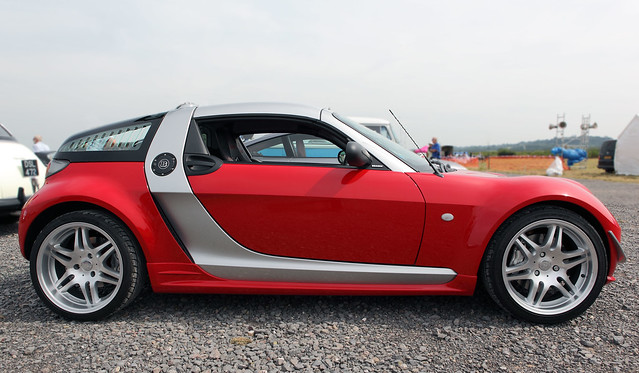 Smart brabus roadster coupe profile view c2004 flickr photo sharing - Smart brabus roadster coupe ...