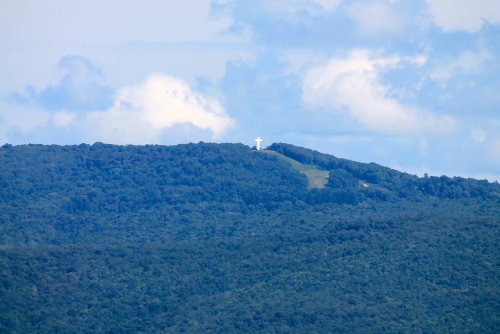 jumonville cross atop chestnut ridge