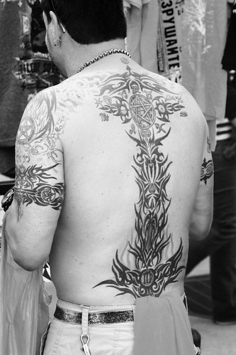 Tribal Backpiece Tattoo | by shaire productions
