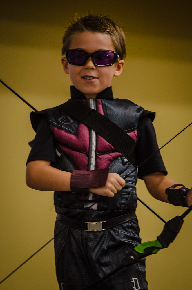Baltimore Comic Con 2012 - Costume Contest: Kid Hawkeye Wi… | Flickr